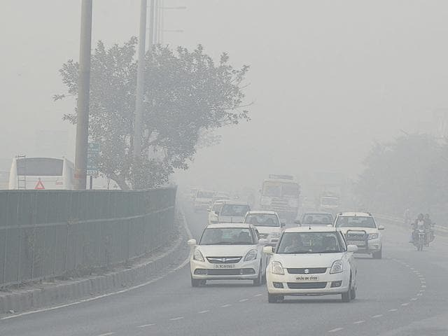 The drop in PM2.5 level and rise in minimum temperature has helped in dispersing pollutants and improving visibility.