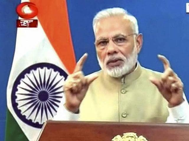 Prime Minister Narendra Modi announced on Tuesday that currency notes of Rs 500 and 1000 will be replaced, in a move to curb the menace of blackmoney.