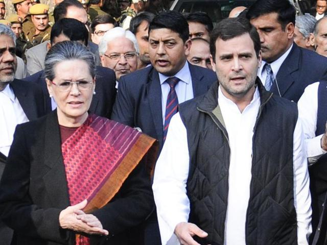 Congress president Sonia Gandhi and party vice-president Rahul Gandhi on Wednesday congratulated Donald Trump on being elected the 45th president of the United States.