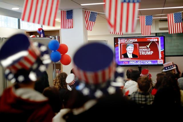 Most mainstream American media  was blindsided by Trump's stunning victory over Hillary Clinton.