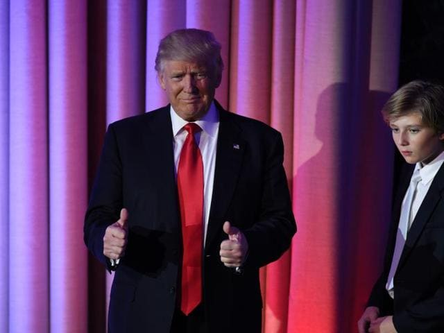 Trump stunned America and the world Wednesday, riding a wave of populist resentment to defeat Hillary Clinton.