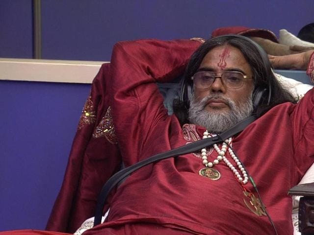 Om Swami ji hasn't done anything notice-worthy in the house yet. (Colors TV)