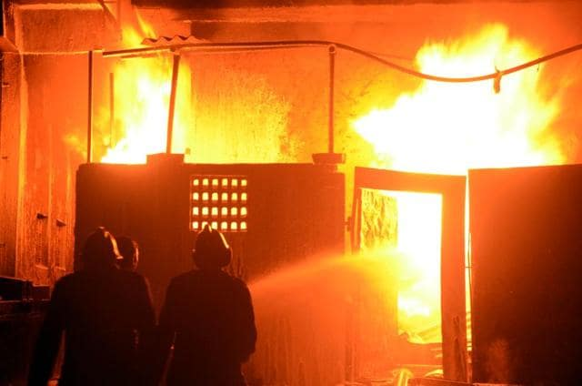 According to the police, the fire broke out at Rayani Inn Pvt. Ltd, around 4.55 pm and it engulfed the entire three-storey building soon