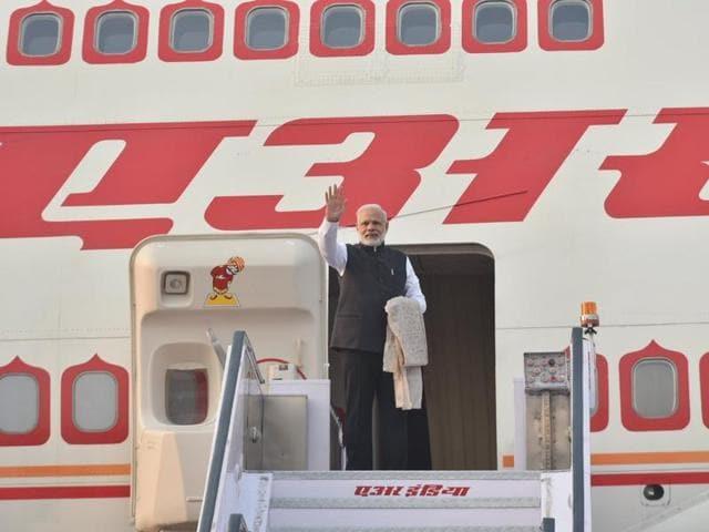 Prime Minister Narendra Modi leaves for Japan.