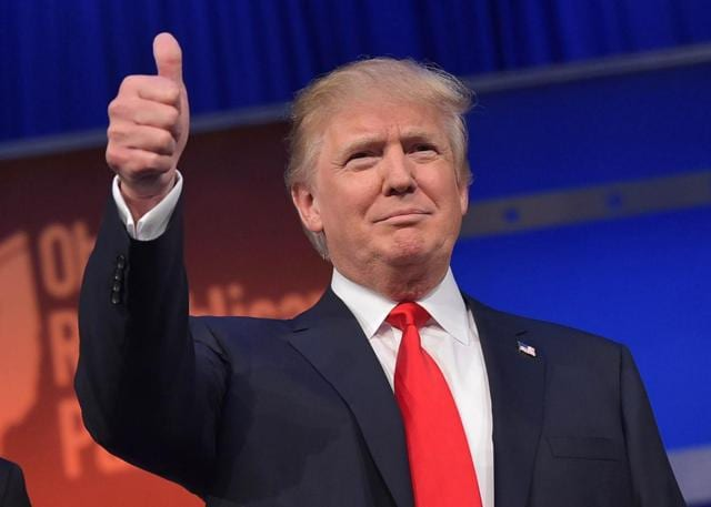 """In his speech, Trump did not speak specifically about any country. Trump said, """"I mean that very sincerely. Now it is time for America to bind the wounds of division, have to get together. To all Republicans and Democrats and independents across this nation, I say it is time for us to come together as one united people."""""""