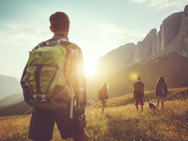Microadventures are short getaways that include low-risk activities like hiking and cycling.