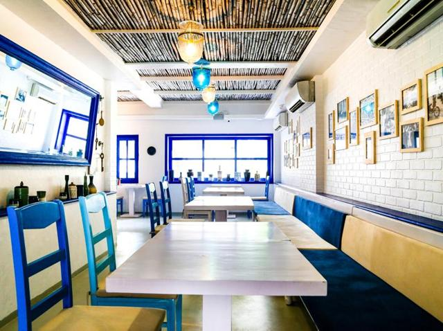 The only thing missing from Thalassa in Mumbai is the sea.