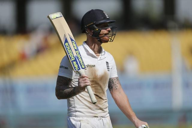 Ben Stokes smashed 128 and helped England to their third-highest total in Tests in India.
