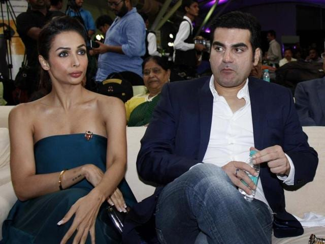 Actors Arbaaz Khan and Malaika Arora Khan came together for their son Arhaan's 14th birthday.