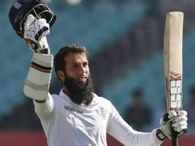 England's Moeen Ali expects Rajkot pitch to get slower.