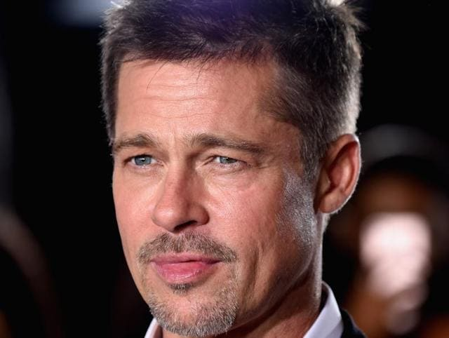 Actor Brad Pitt attends the fan event for Paramount Pictures' Allied at Regency Village Theatre on November 9, 2016.