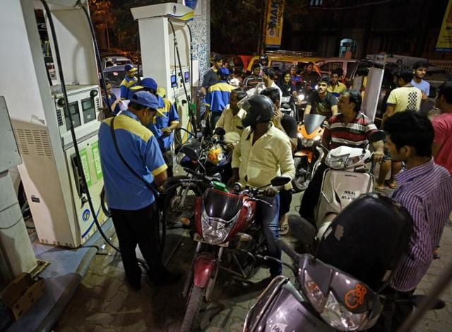It means you will won't be able to get fuel for you vehicles up to 7am on November 12.