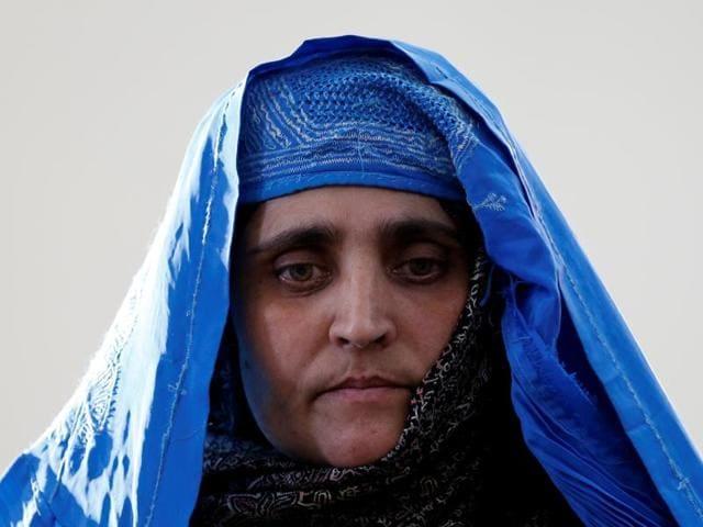 Afghan girl,National Geographic cover,Natgeo Afghan girl