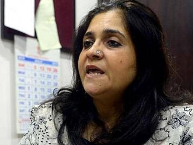 Activist Teesta Setalvad, her husband, and the two NGOs -- Sabrang Trust and Citizens for Justice and Peace -- have approached the apex court challenging the October 7, 2016, Gujarat high court verdict that rejected their pleas for defreezing their personal bank accounts.