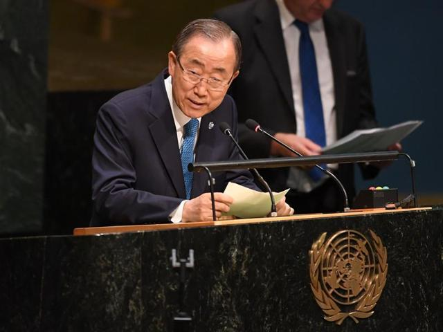 Donald Trump has described the 71-year-old United Nations as weak and incompetent and threatened to pull out of a global deal to combat climate change.