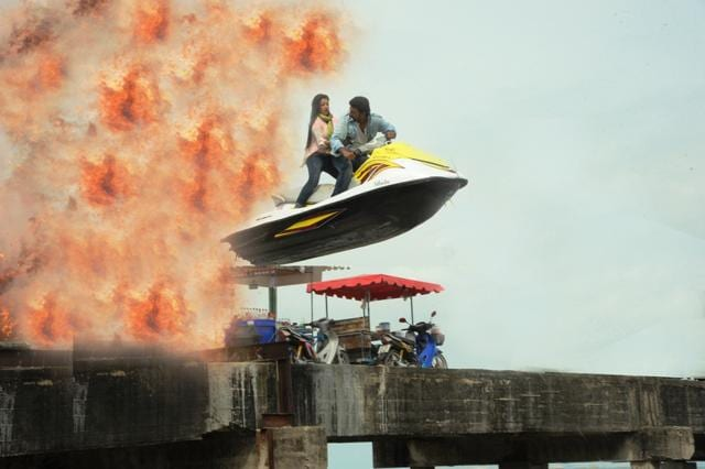 Dev and Koel Mullick shot an action sequence in Thailand for Rangbazz.