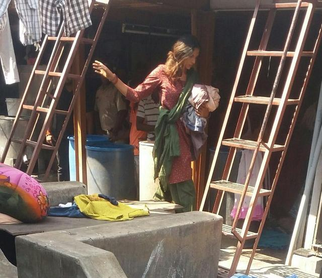 Deepika Padukone Shoots At Dhobi Ghat For Majid Majidi's