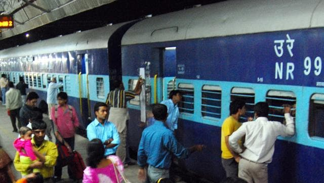 Officials at the ticket counters did not even ask for identity proofs