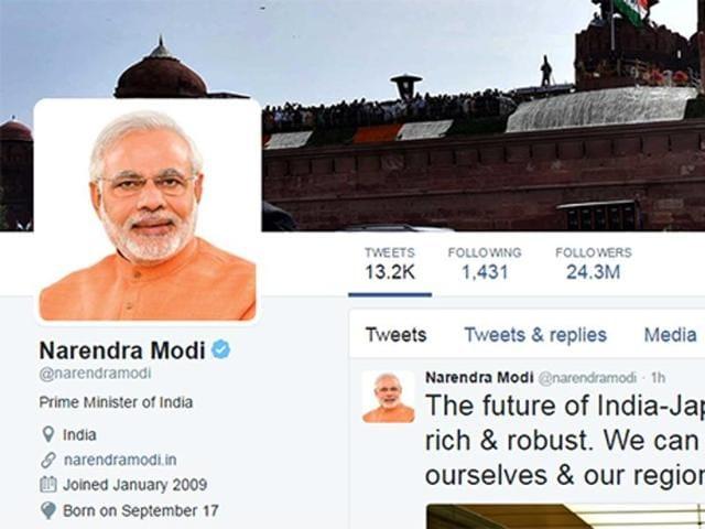 Narendra Modi,Modi twitter followers,Black money