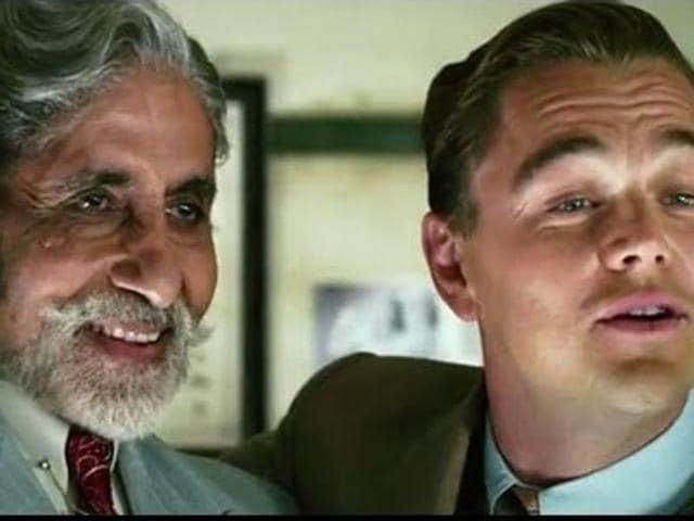 Amitabh Bachchan,Leonardo DiCaprio,The Great Gatsby