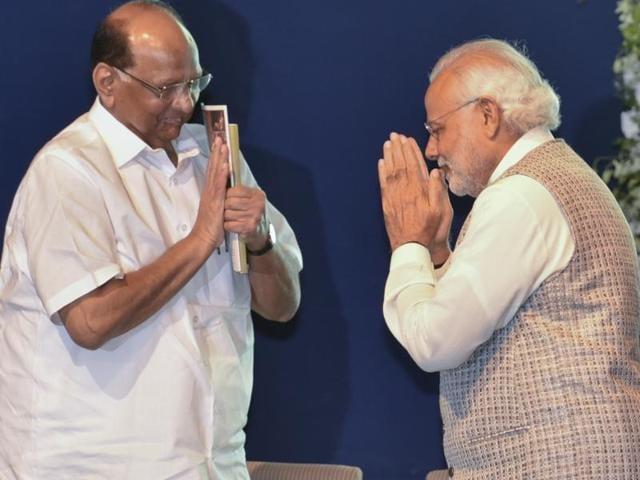 PM Modi,Narendra Modi,Sharad pawar