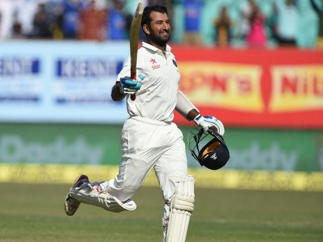 Cheteshwar Pujara,Rajkot,India vs Cricket