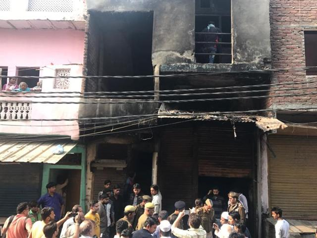 Workers at the factory -- suspected by the police to be illegal -- were sleeping in the cramped building when the fire broke out, likely caused by a short circuit.