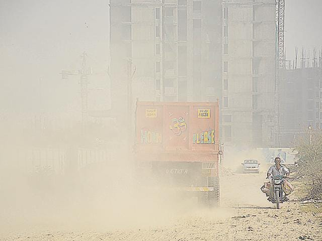 Pollution levels in Ghaziabad remain severe, despite  advisories issued by authorities.