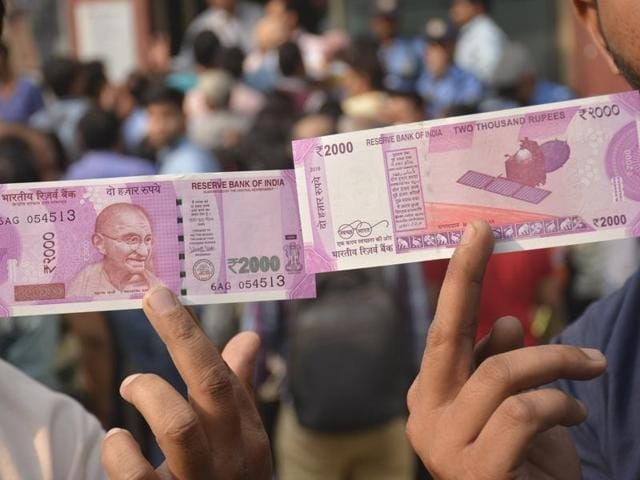 People are trying to swap their old notes for smaller bills and for new 500 and 2,000 rupee notes, which are being rushed into circulation and are designed to be harder to forge.