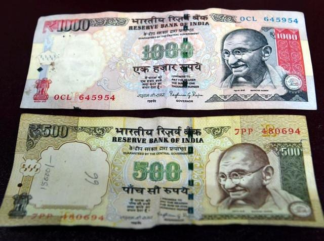 Rs 500 and Rs 1000 notes were discontinued from Tuesday midnight as a step to curb black money.