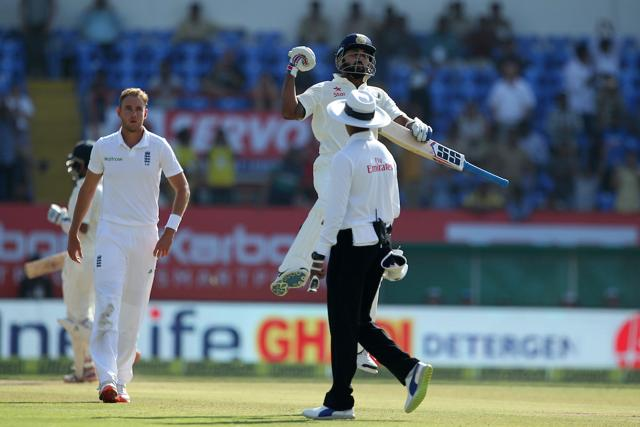 Murali Vijay notched up his seventh Test century and his second against England.