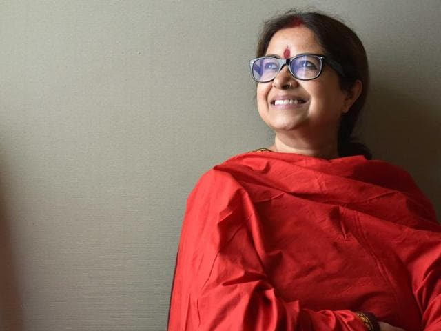 Rekha Bhardwaj's story, ironically, defies one of usual industry privilege. You may know Rekha thanks to Bollywood, but her commercial success has come remarkably slow.(HT File Photo)