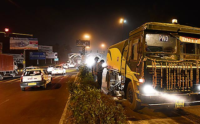 When pollution levels spiked in the Capital last week, Sisodia announced a slew of measures to control it, vacuuming of roads every week being one of it.