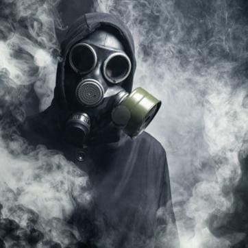 The air pollution monster