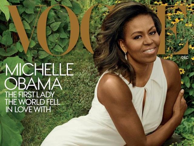 Michelle Obama,Vogue,Cover