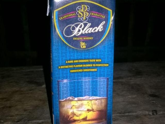 Used tetra packs of whisky have been found in waste dumps in many parts of Bihar.