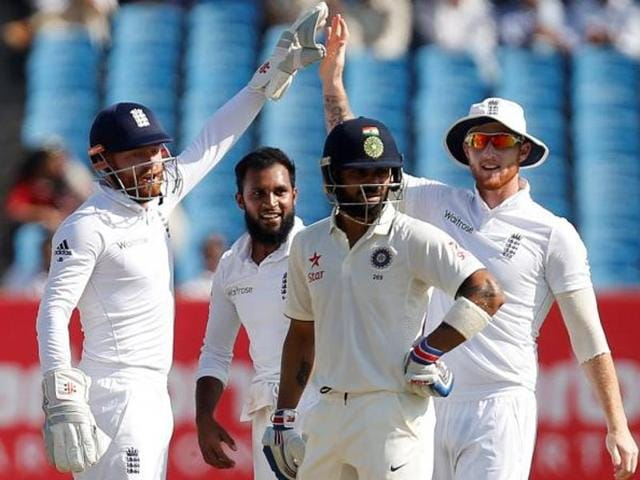Virat Kohli became the second Indian Test skipper after Lala Amarnath to be out hit wicket in a match.