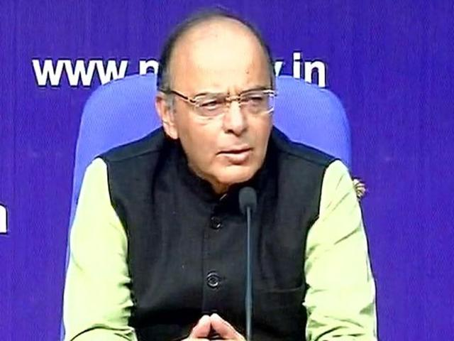 Finance minister Arun Jaitley appealed to Indians not to rush to banks for withdrawal of new currency.