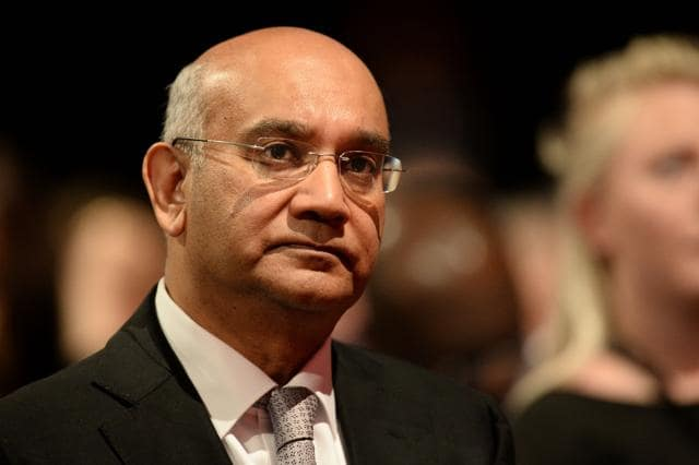 British opposition Labour party MP Keith Vaz at his home in London. Tabloid reports led to Goa-originVaz resigning as chairman of the influential home affairs select committee of parliament.