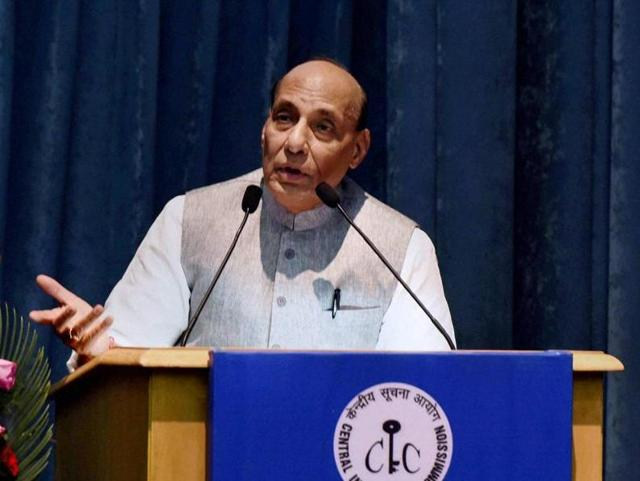 Rajnath Singh called for unity among all the countries to face the biggest threat to the world posed by terrorism.