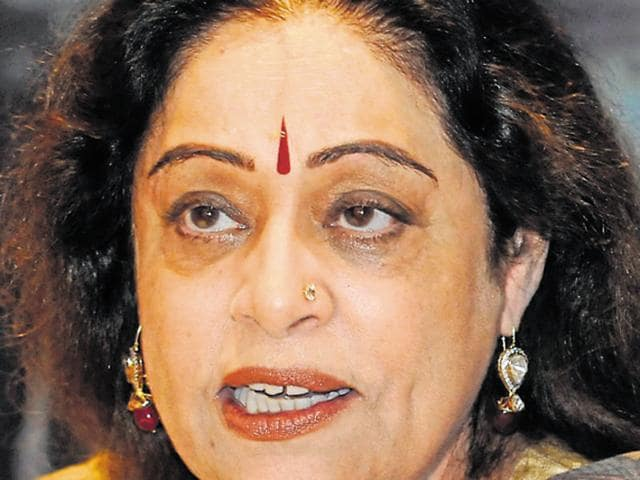 In October, MP Kirron Kher was on a tweeting-spree when the foundation stone for augmentation of city's water supply scheme was laid.
