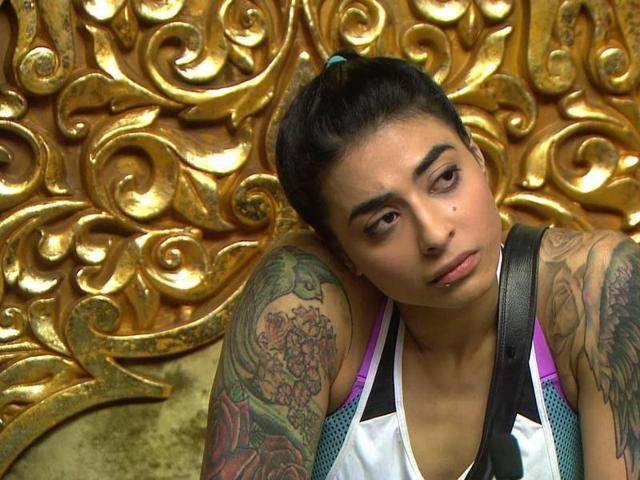 VJ Bani, who is the first captain of Bigg Boss 10, does not seem too confident about her decisions.