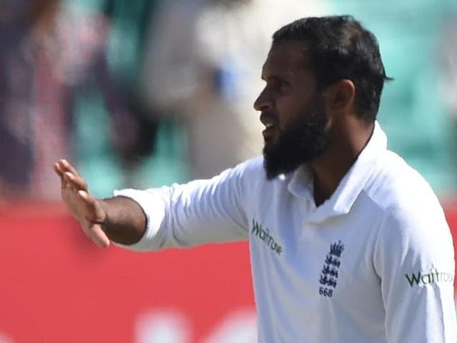 England's Adil Rashid claimed 4/114 on Saturday.