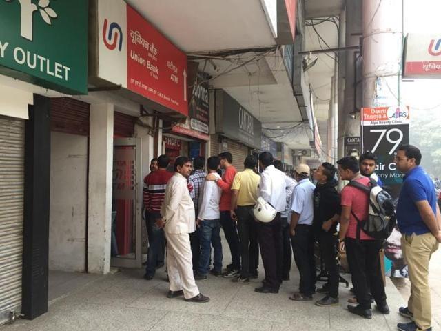 Gurgaon,ATM,black money