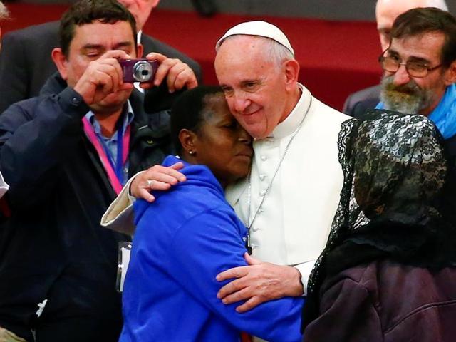Pope Francis,Old ladies,Crafty ladies