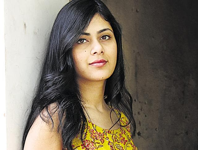 For writers of romantic fiction such as Madhuri Banerjee, Durjoy Datta (standing) and Ravinder Singh, looks are a big part of their appeal and popularity among readers.