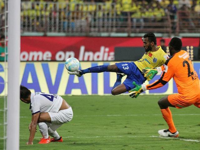 ISL,CK Vineeth,Chennaiyin FC