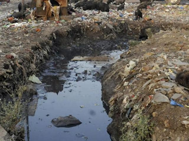 A sanitation worker was killed and another critically injured after they fell into a sewer and inhaled methane gas in south Delhi's Vasant Kunj on Friday, police said.