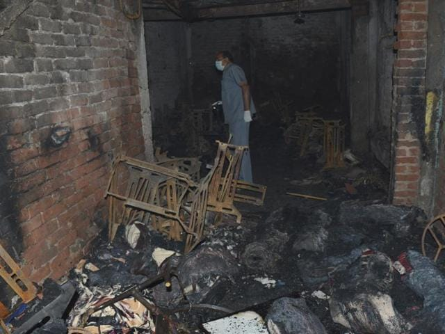 13 people were killed while three critically injured in a fire at an unauthorised factory in Shaheed Nagar, Sahibabad.