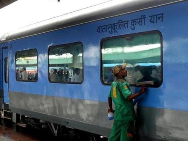 rail ticket sales